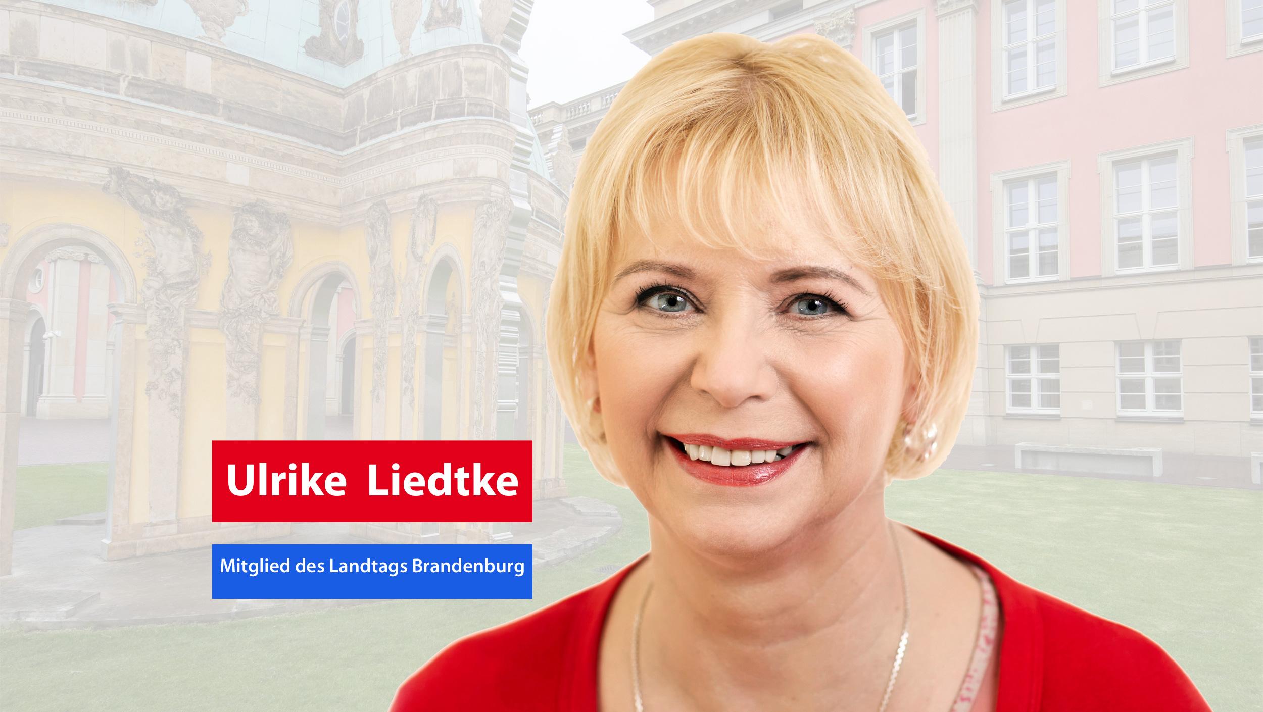 Ulrike Liedtke - Mitglied Landtag Brandenburg